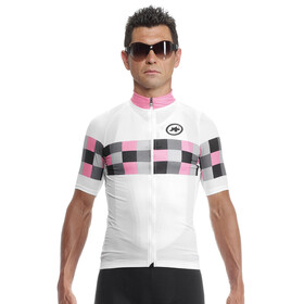 assos SS.GrandprixJersey_Evo8 Bike Jersey Shortsleeve Men grey/white